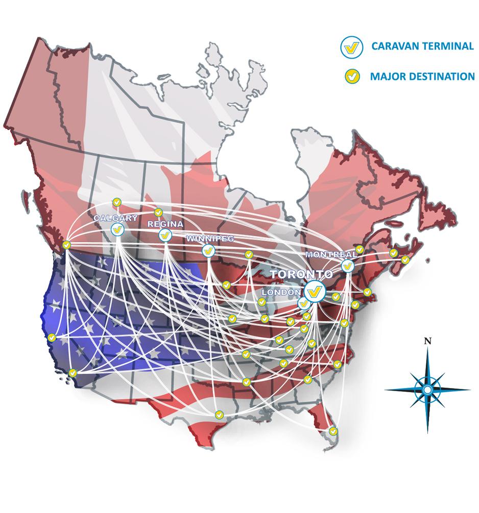 caravan service map 2015